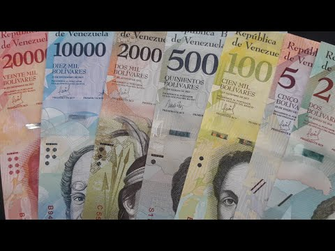 The Bolivarian Republic of Venezuela Banknotes