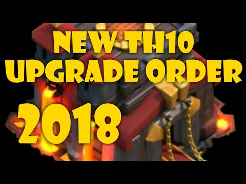 TH10 UPGRADE ORDER, IT CHANGED IN 2018!