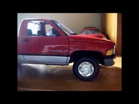 Ertl American Muscle 1 18 1995 Dodge Ram 2500 Youtube