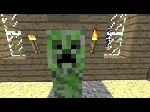 Creeper x steve minecraft youtube - Minecraft creeper and steve ...