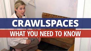 Maintaining Your Crawlspace