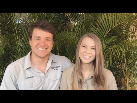 Bindi Irwin and Chandler Powell on Engagement and How They'll Honor Dad Steve (Full Interview)