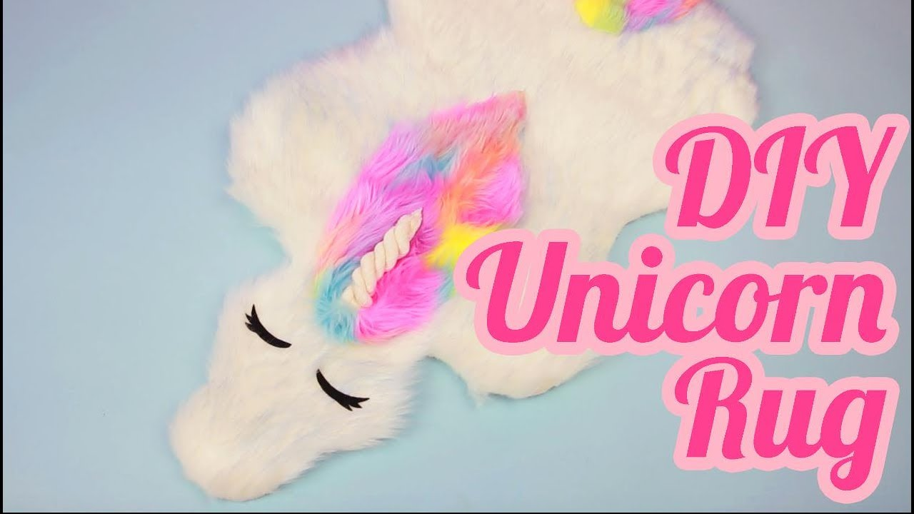 Diy Unicorn Rug Youtube