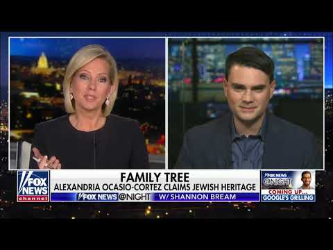 Ben Shapiro Reacts to Ocasio-Cortez's Claim of Jewish Heritage