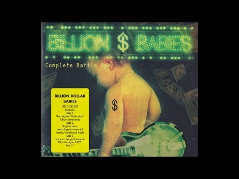 Rock 'n' Roll Radio - Billion Dollar Babies Live @ Flint, Michigan Venue (first ever concert 1977)
