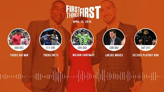 First Things First audio podcast (4.15.19)Cris Carter, Nick Wright, Jenna Wolfe   FIRST THINGS FIRST