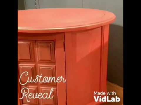 Urban Attic Company - UAC Chalky Paint in Coral Garden