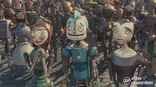 Video Robots - Get up offa that thing [1080P] Castellano download MP3, 3GP, MP4, WEBM, AVI, FLV Juli 2018