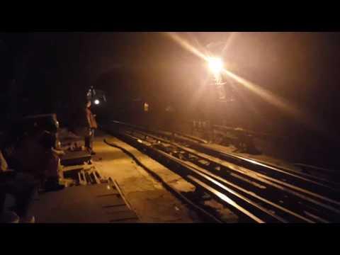 Returning the Aldwych branch train