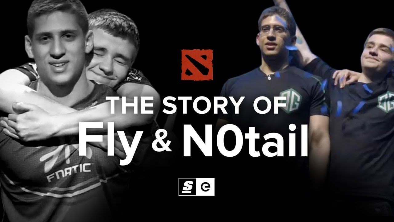 The Story of Fly and N0tail: The Dota Brothers - YouTube