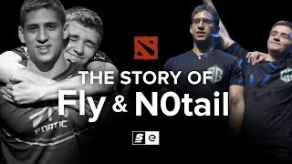 The Story of Fly and N0tail: The Dota Brothers