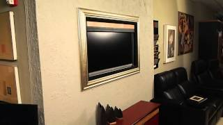 The Art Screen - Motorized Artwork To Conceal Your Tv