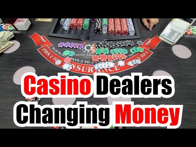 Casino Dealers Changing Money SHORT CLASS - CEG Dealers Raw Class ft Lauren