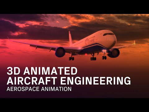3D Animated Aerospace Engineering - Engineering Animation