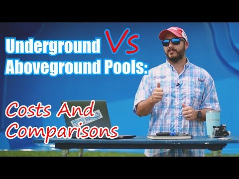 Underground Vs Aboveground Pools: Costs And Comparisons