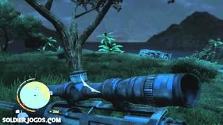 Como pegar a Sniper secreta! Far Cry 3 Gameplay Detonado 86