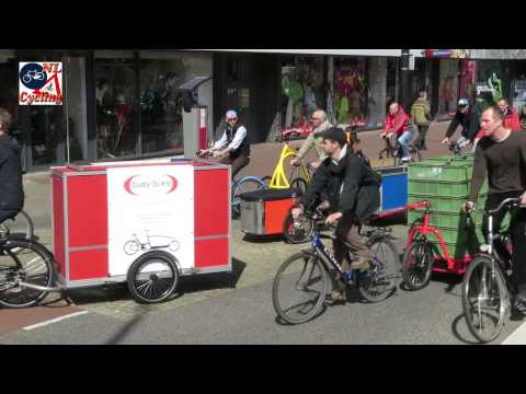 International Cargo Bike Festival 2015 - tour