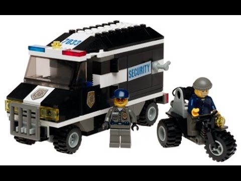 Lego world city camion blind policier et voleur sur sa - Lego city camion police ...