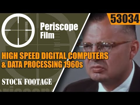 HIGH SPEED DIGITAL COMPUTERS & DATA PROCESSING 1960s MAINFRAME IBM COMPUTERS 53034