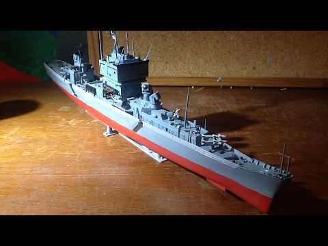 USS Long Beach 1.570 scale model review