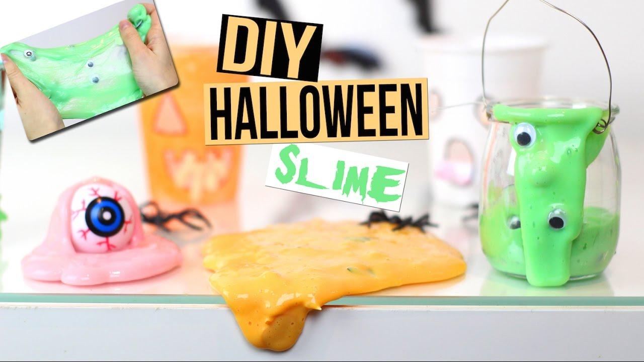 diy halloween slime sans borax facile francais youtube. Black Bedroom Furniture Sets. Home Design Ideas