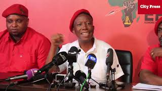 Full presser: Julius Malema post-election address