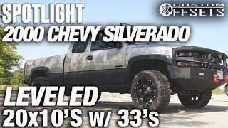 Spotlight - 2000 Chevy Silverado, Leveled, 20x10 -24's, And 33's