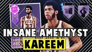 NBA 2K18 AMETHYST KAREEM ABDUL JABBAR!! *5 HOF BADGES* | NBA 2K18 MyTEAM PACK OPENING!!