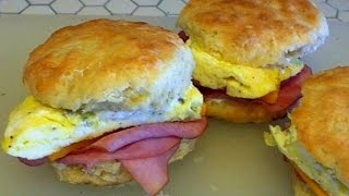 Best Breakfast Sandwich(Another biscuit video? The horror! But there's a lot to be done with biscuits. This biscuit breakfast sandwich is a response to Carl Blemming and his hunt for the ..., 2014-10-16T20:01:23.000Z)