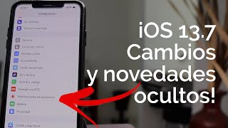 THESE ARE THE CHANGES IN iOS 13.7