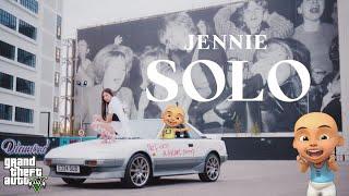 Jennie SOLO Upin pun ngepoin BLACKPINK - GTA V Upin Ipin Episode Terbaru 20