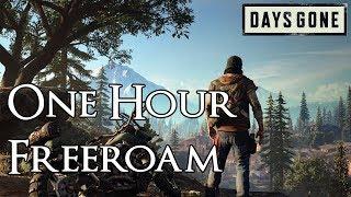Days Gone - 1 Hour of Free Roam Exploration