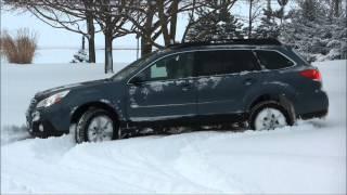 2014 Subaru Driveway snow