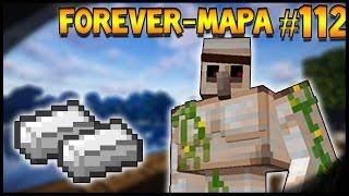 FARM de FERRO e FLOR INFINITA (COMPACTA)! - ForeverMapa #112 - Minecraft