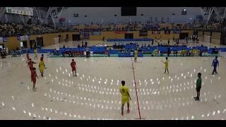 20180730 男子ハンドボール 準々決勝 北陸福井県対 洛北京都府