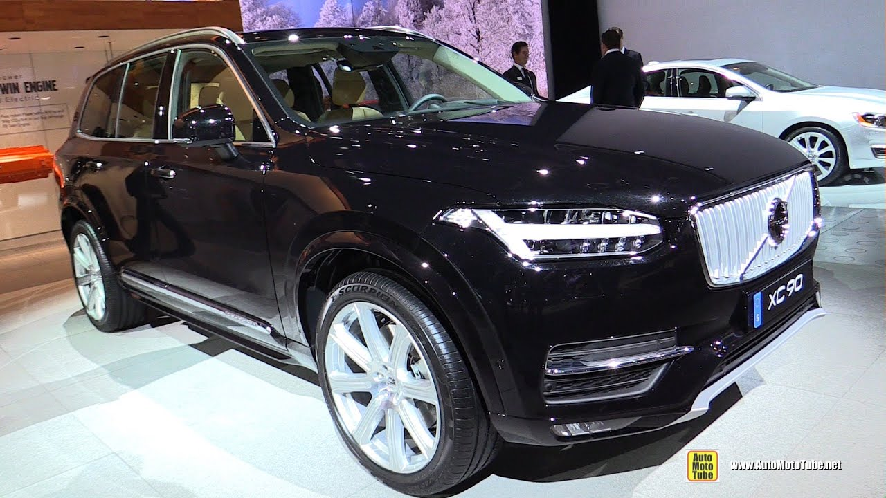 2017 Volvo Xc90 T8 Plug In Hybrid Inscription Exterior Interior Walkaround Detroit Auto Show You