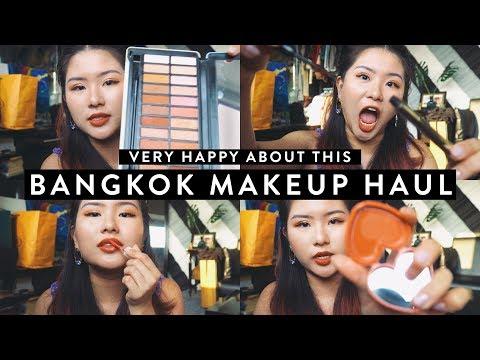 BANGKOK MAKEUP HAUL | What To Get!