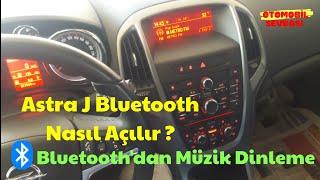 Opel Astra J Bluetooth Açma