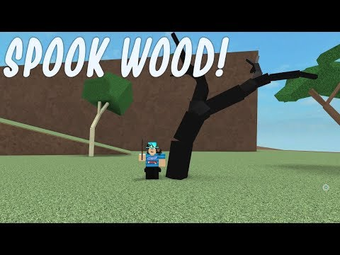 ROBLOX LUMBER TYCOON 2! SPOOK WOOD FOUND!