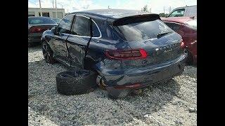 Кузовной ремонт в Армении/Body repair in Armenia Porsche Macan