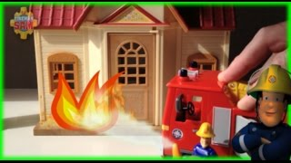 New Fireman Sam Episode with Toys Playset Postman Pat Peppa Pig English  2015