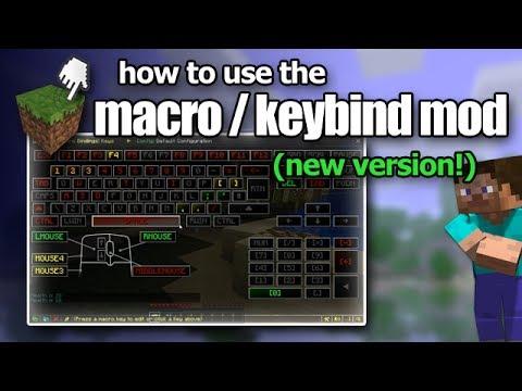 Minecraft How To Use The Macro Keybind Mod NEW VERSION YouTube - Minecraft nutzliche spielerkopfe