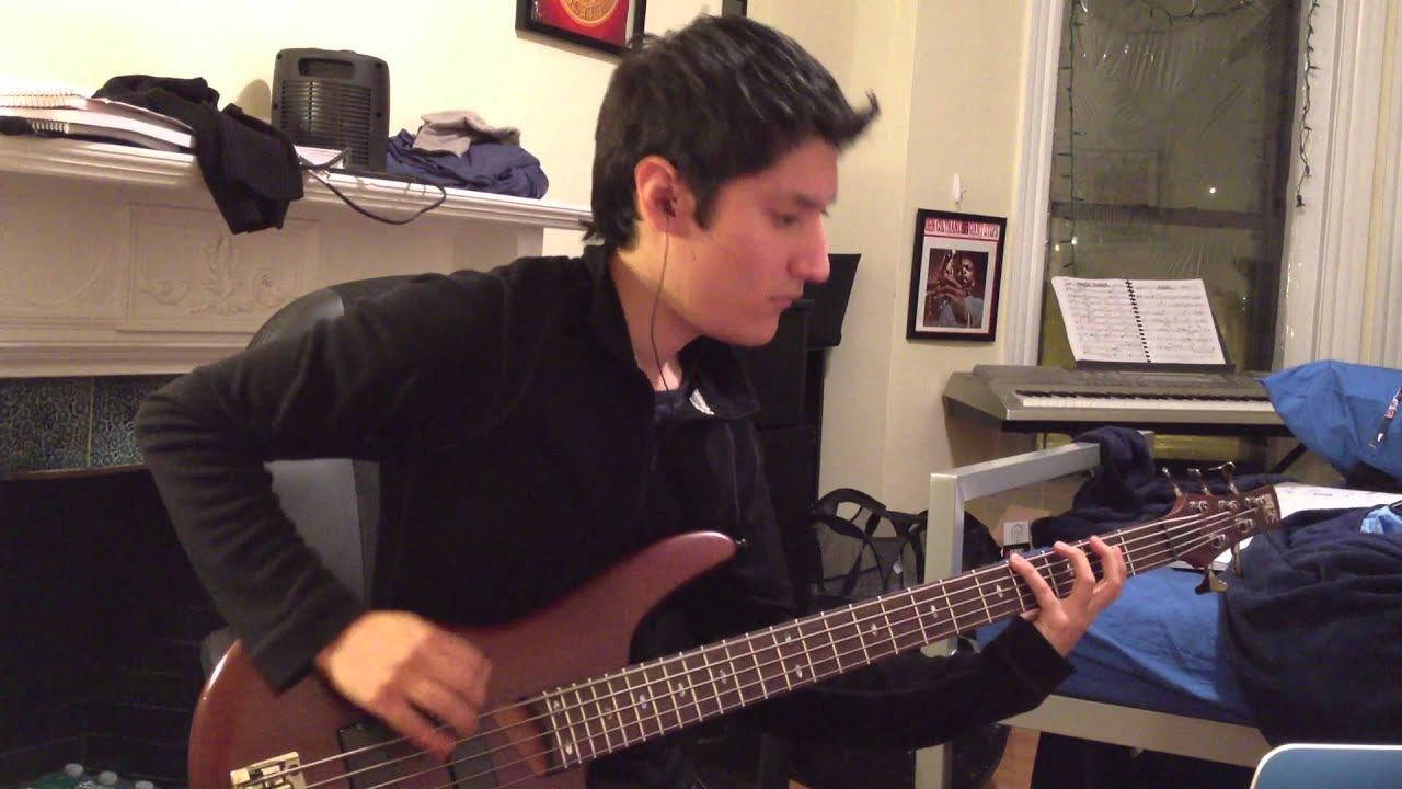 of mice men another you bass cover youtube