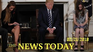Trump Vows Action On Gun Background Checks After Florida Shooting | News Today | 02/21/2018 | D...