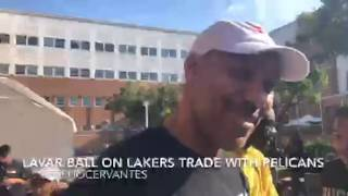 Lakers: LaVar Ball's immediate reaction to Lonzo Ball Trade includes a ton of fabulous one-liners
