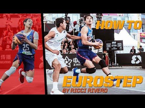 How To Eurostep  - Ricci Rivero breaks down the Eurostep! | FIBA 3x3 Tutorial
