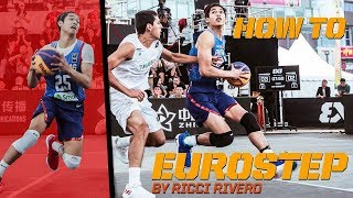 How To Eurostep  - Ricci Rivero breaks down the Eurostep! | FIBA 3x3 Tutorial
