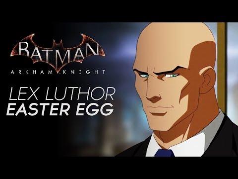 Batman Arkham Knight - Lex Corp. Easter Egg (Lex Luthor Building Easter Egg)