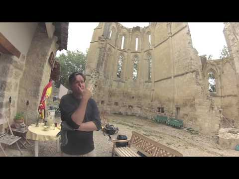 San Anton Ruins - An albergue you can not MISS on the Camino