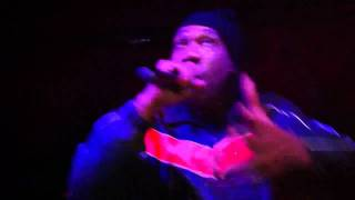 "KRS-ONE:""My 9MM Goes Bang"" @ Jazzbones (2011)"